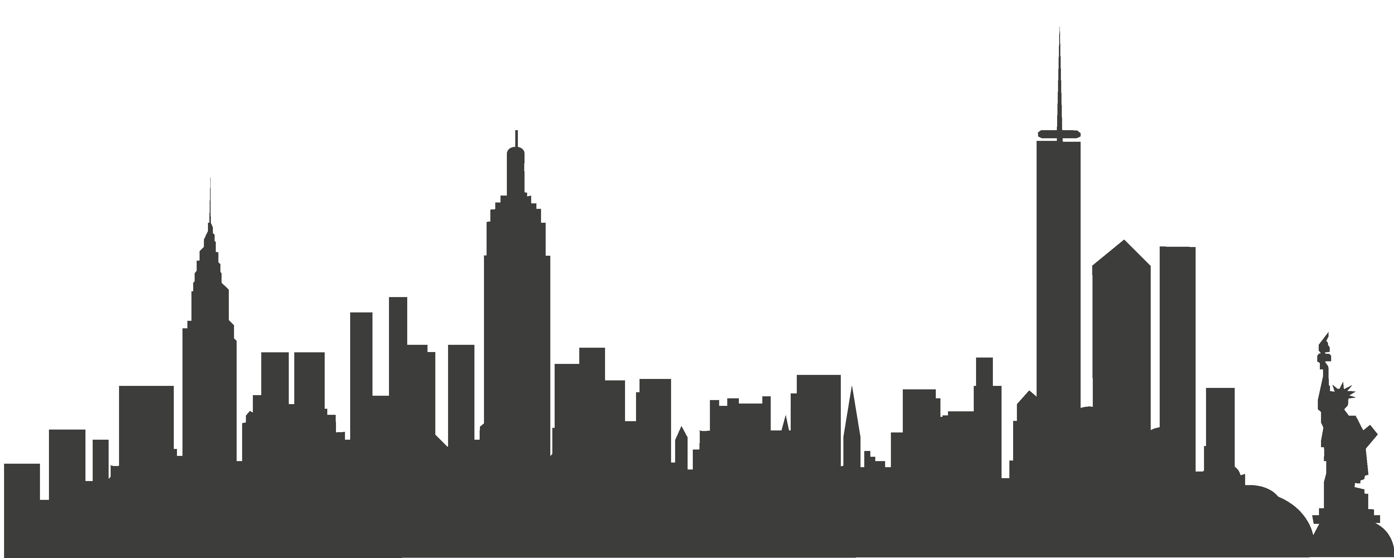 New York City Skyline Clip art.