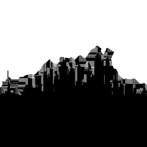New York City Skyline Silhouette Drawing Clip art.