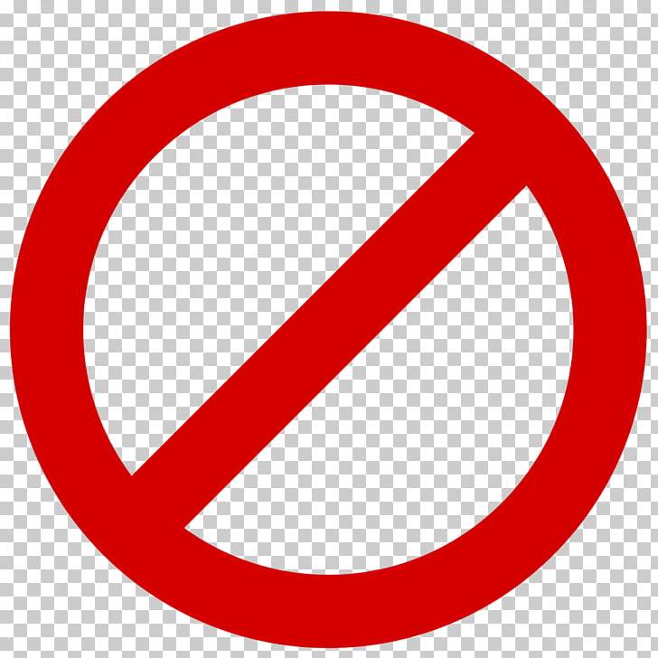 No symbol Sign , forbidden, no entry logo PNG clipart.