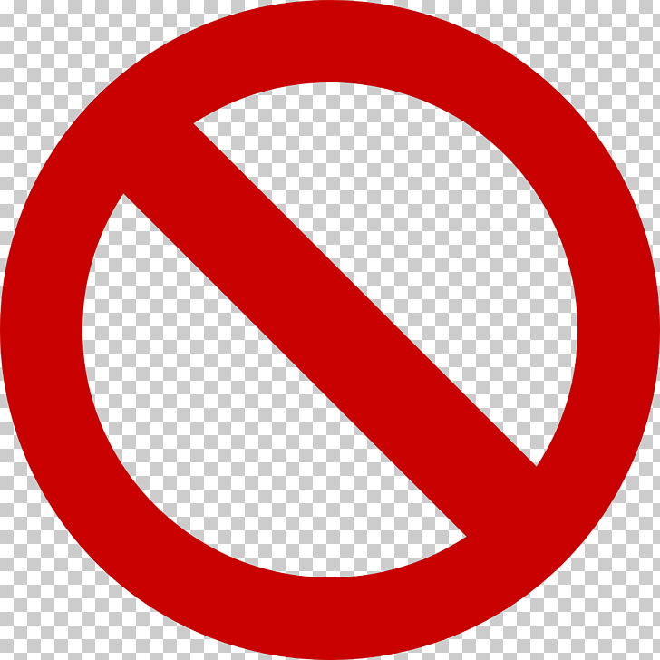 No symbol , Free Forbidden Files, round red signage PNG.