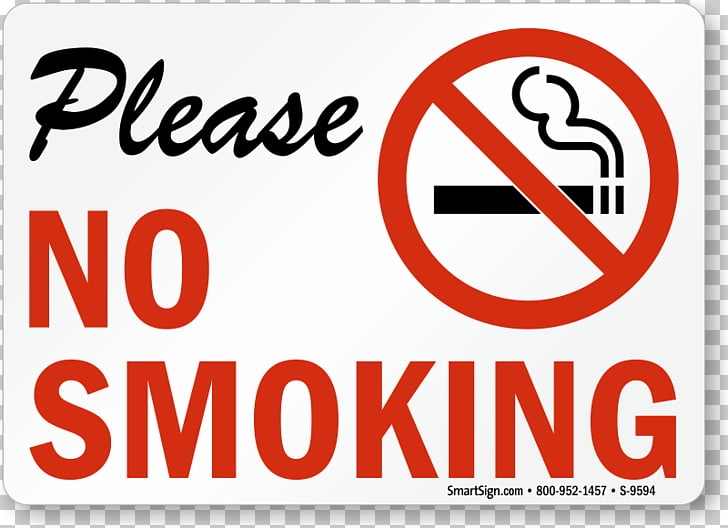 Smoking ban Sign Smoking cessation Sticker, NO SMOKING.