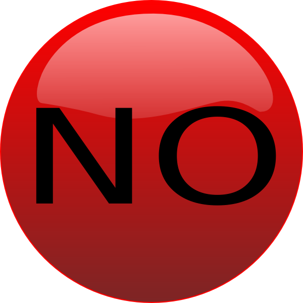 No clipart red, No red Transparent FREE for download on.