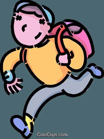 Free Clipart No Watermark Child Running #354932.