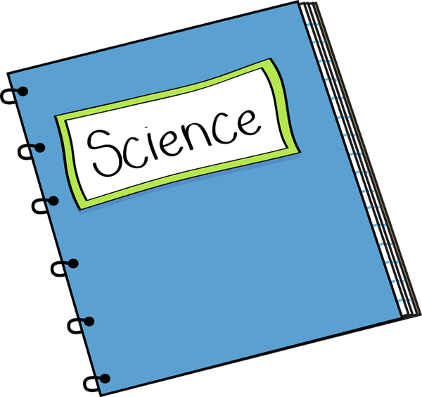 Science Notebook Free clipart.
