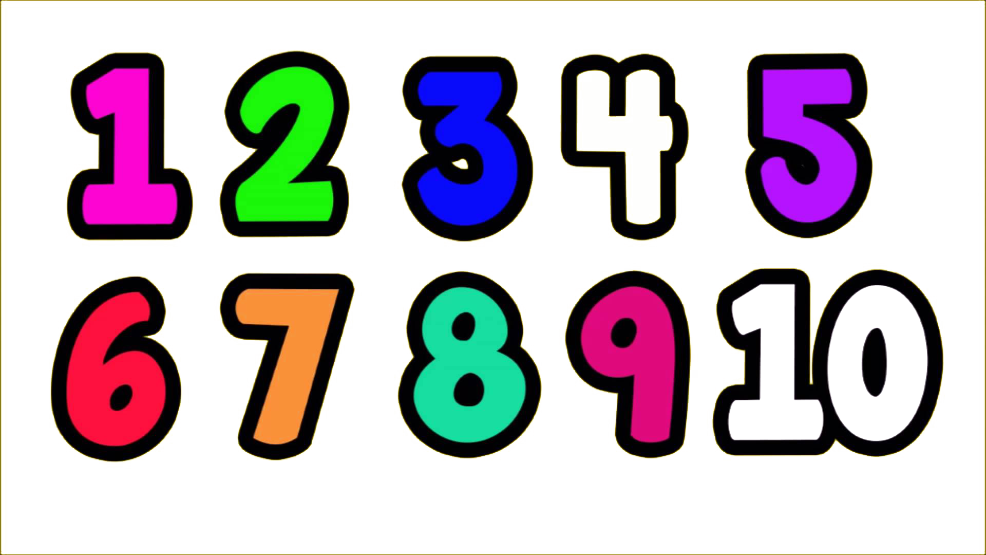 Clipart numbers 608123.