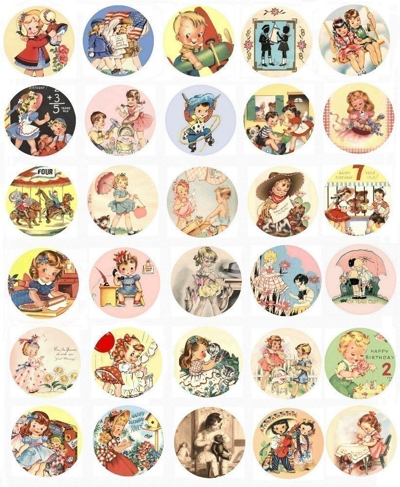 Free download vintage nursery decals clipart Nursery rhyme.