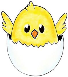 Cute Chicken Clipart.