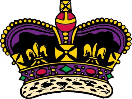 King And Queen Crowns Clipart.