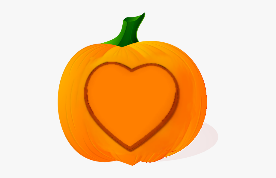 Clipart Pumpkin Heart.
