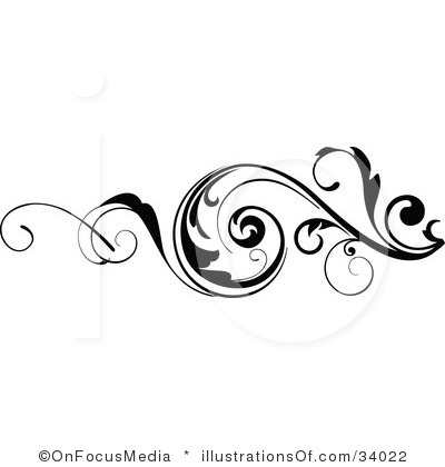 Free Clipart Of A Scroll.