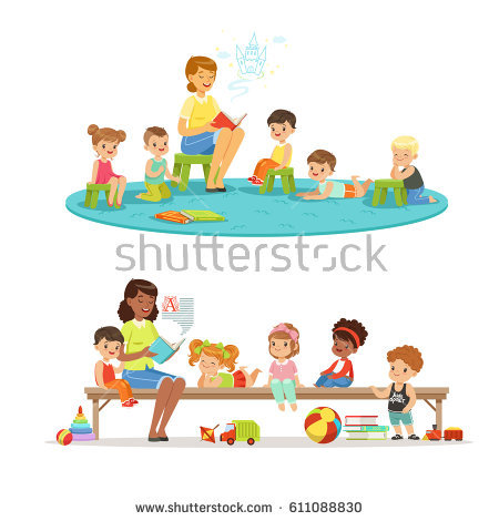 Group Of Children Stock Images, Royalty.