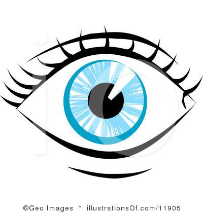 Eye Clip Art Black And White.