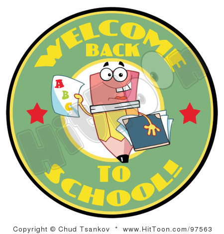 Welcome Back To School Clipart Black And White.