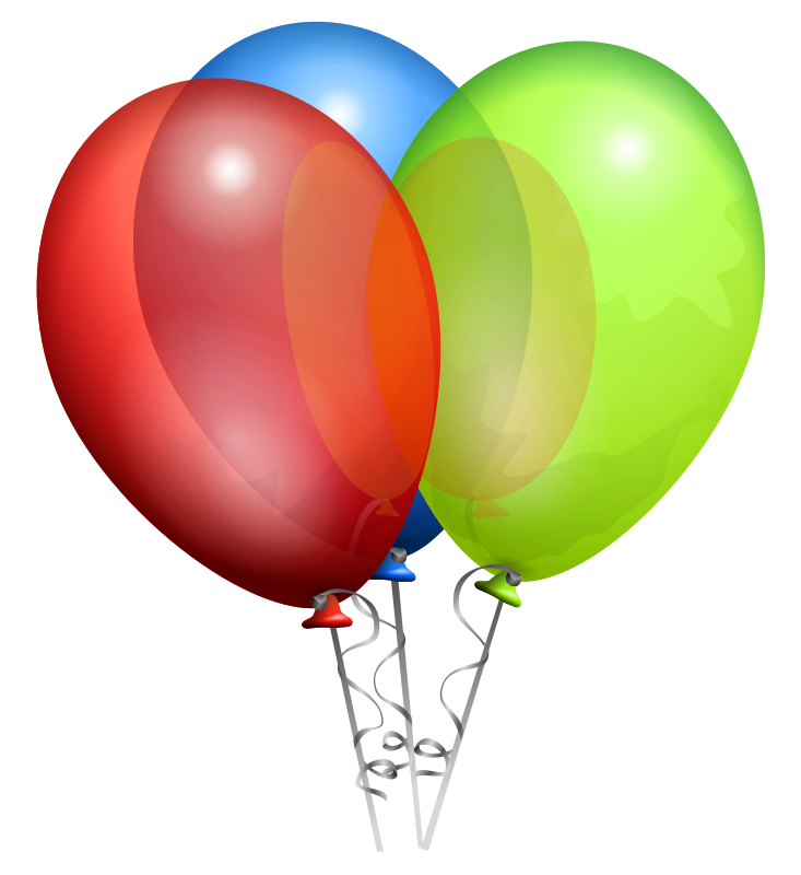 Free Clipart: Balloons.
