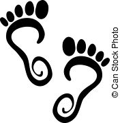 Free Clipart Of Bare Feet.