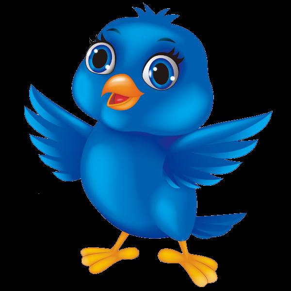 Blue bird cliparts.