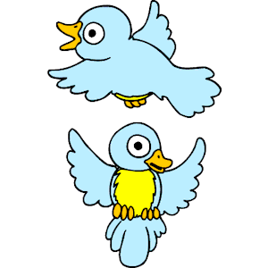 Birds Flying clipart, cliparts of Birds Flying free download (wmf.