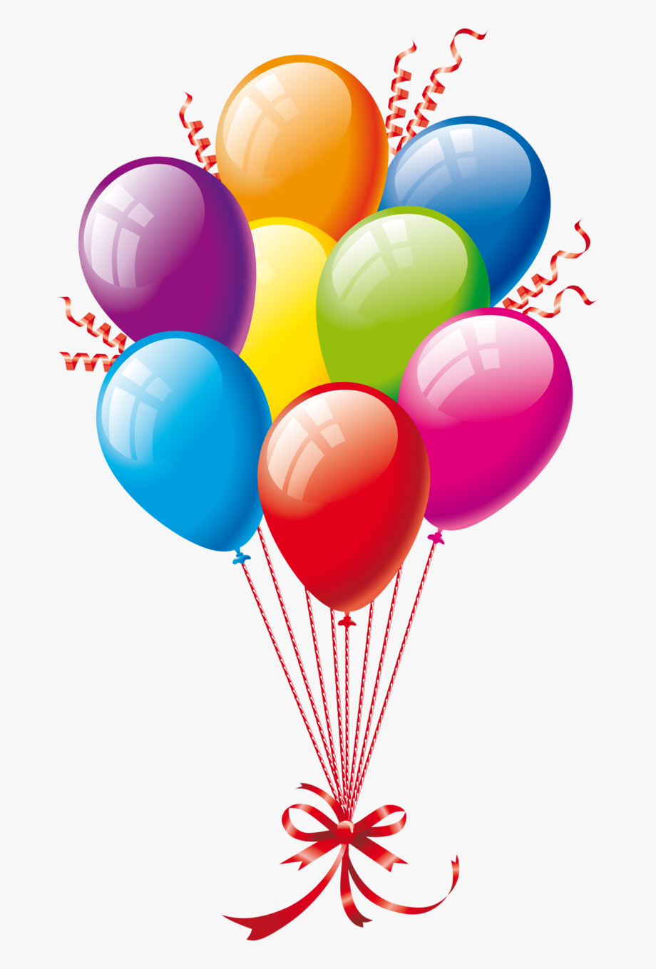 Clipart Of Birthday Balloons.