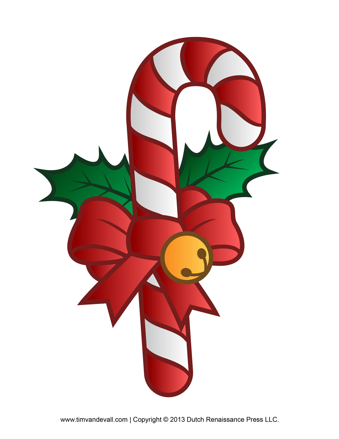 Candy Cane Clipart Free.