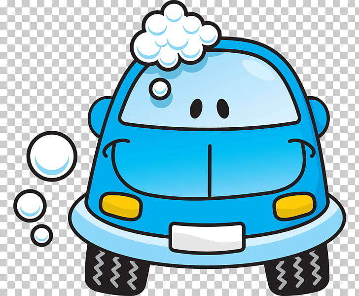 Car wash , Soap s Transparent, blue car PNG clipart.
