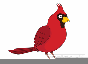 Free Clipart Of A Cardinal.