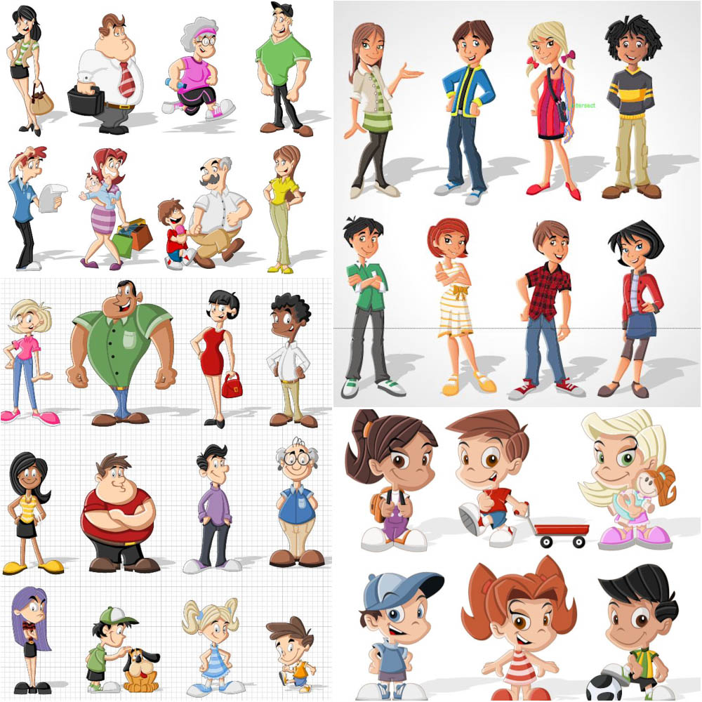 Free Cartoon People Cliparts, Download Free Clip Art, Free.
