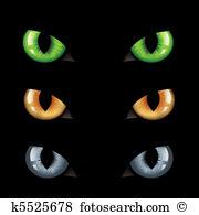 Cat eyes Clipart Royalty Free. 6,089 cat eyes clip art vector EPS.