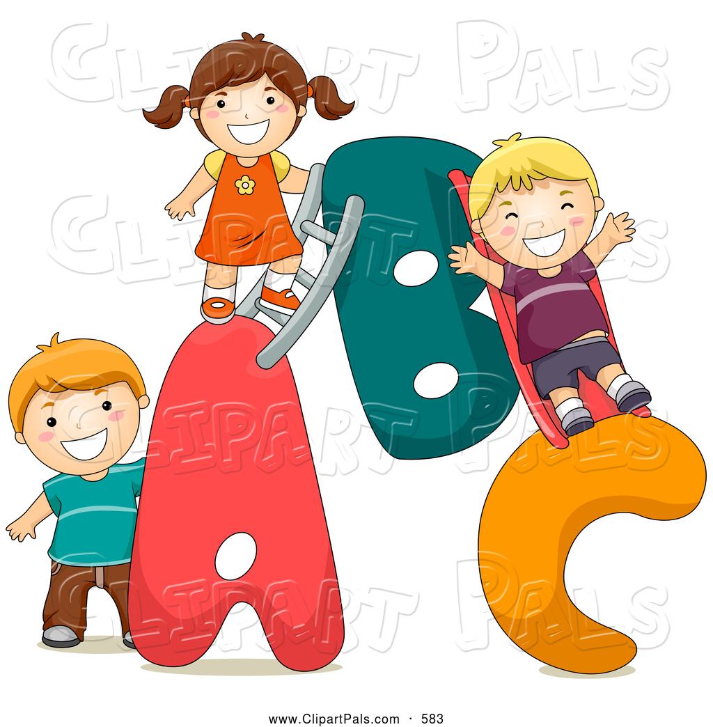 Free Clip Art Children Playing.