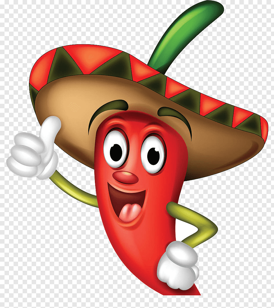 Chili pepper illustration, Chili con carne Mexican cuisine.