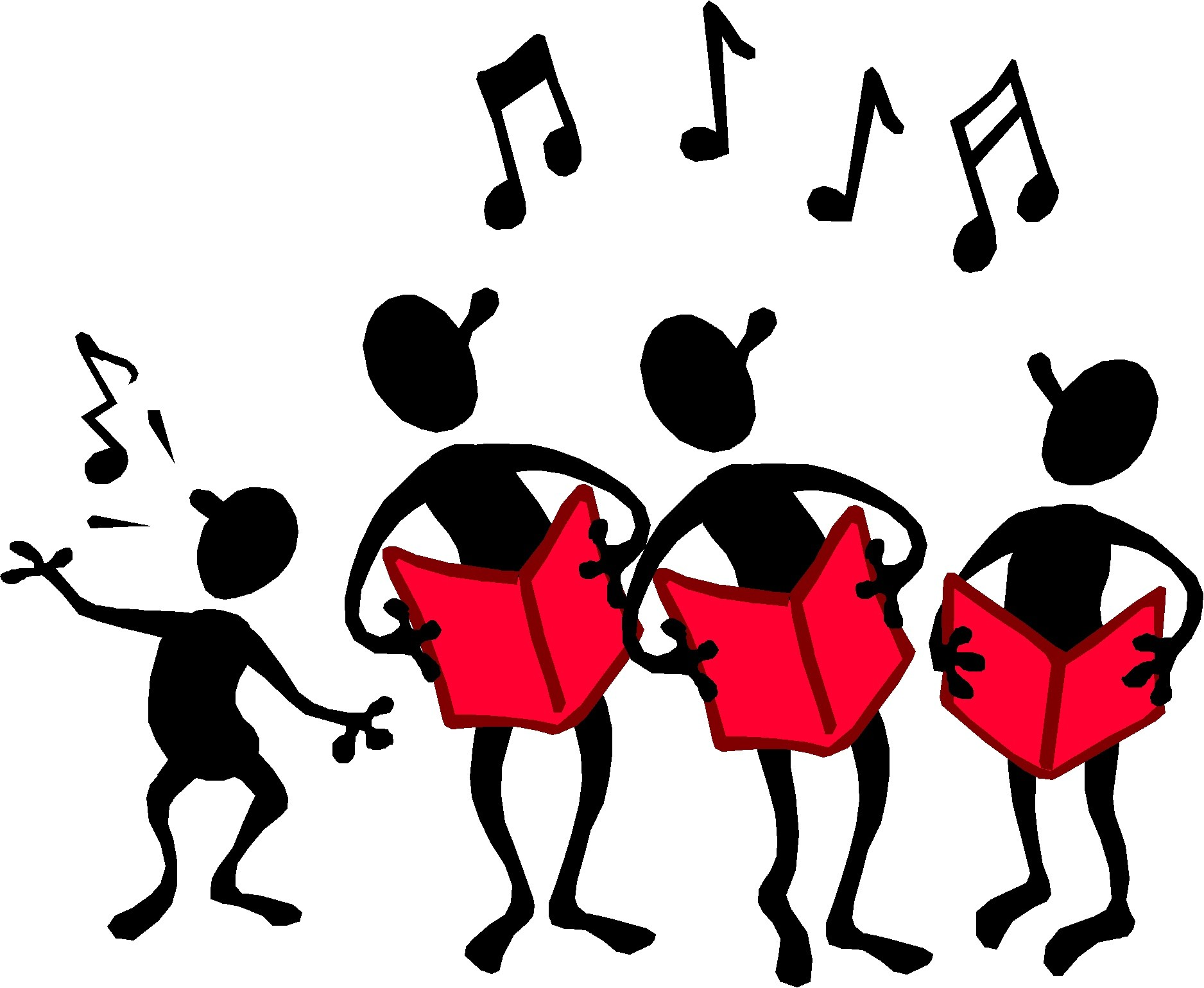 Choir Singing Clip Art Free N6 free image.