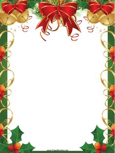 49 Best Free christmas borders images.