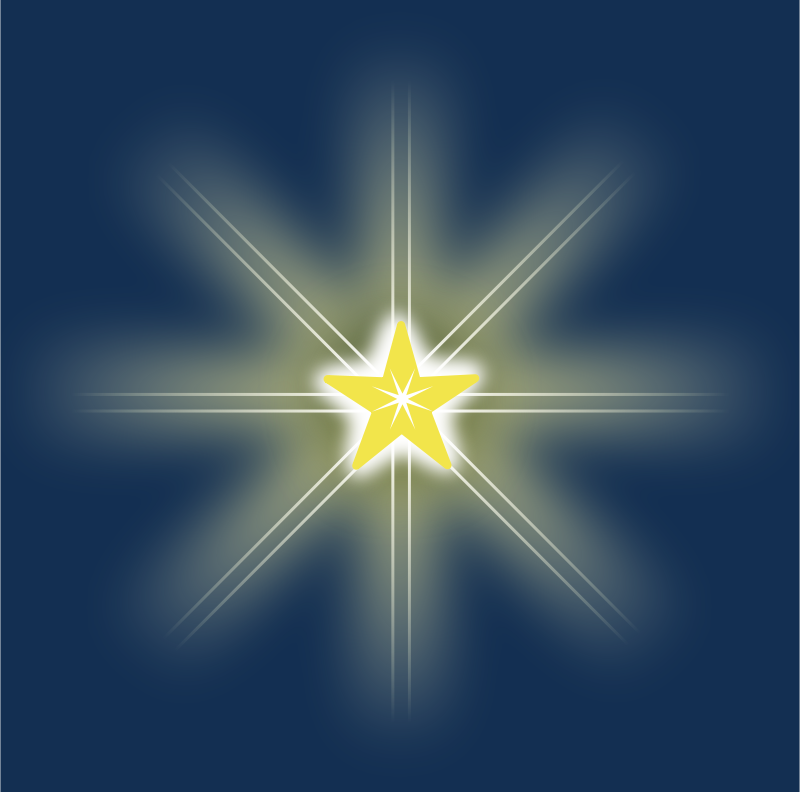 Free Clipart: Christmas Star.
