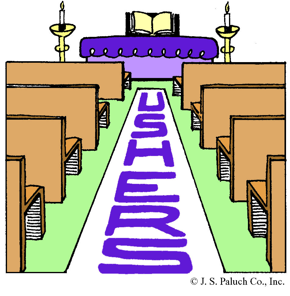 Free clipart church ushers.