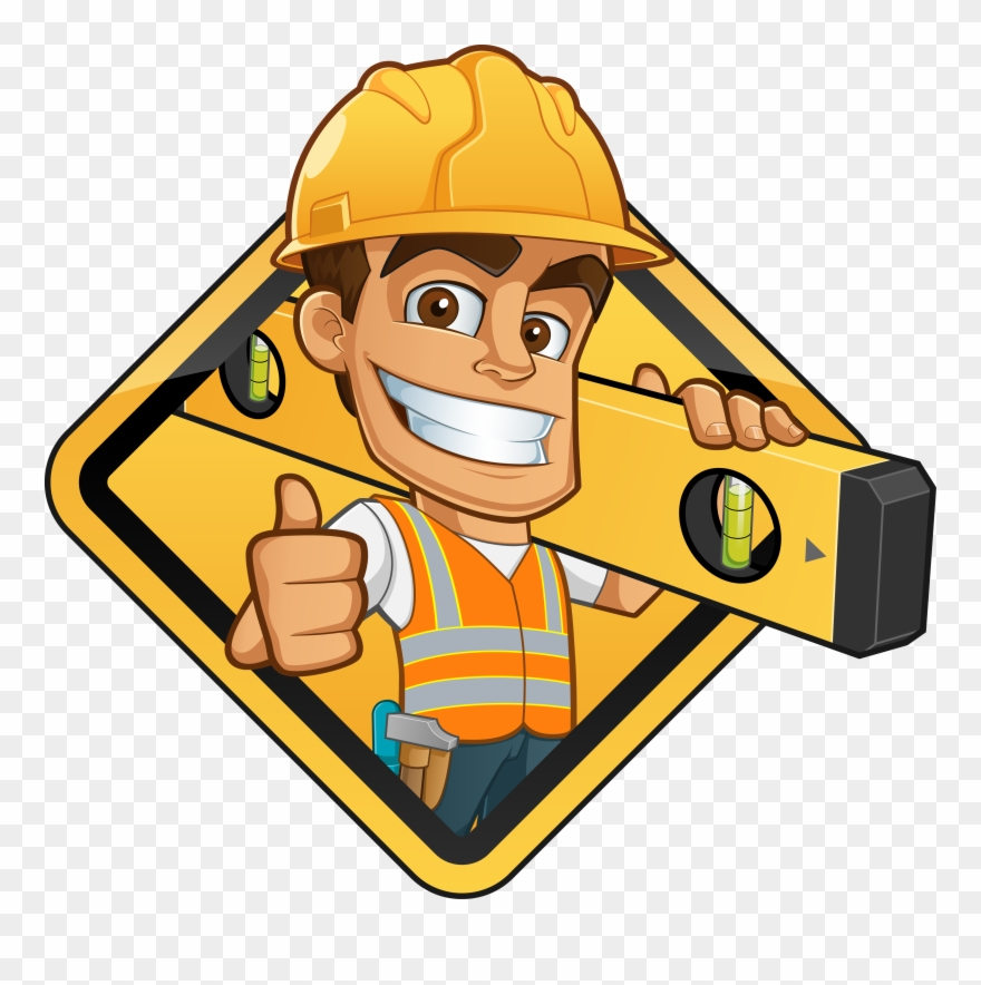 Gigantic Free Clipart Construction Worker Vector Graphics.