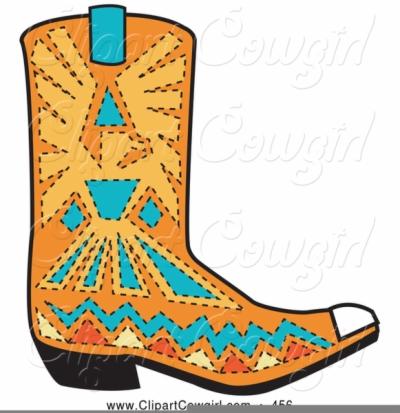 cowboy boots clip art , Free clipart download.