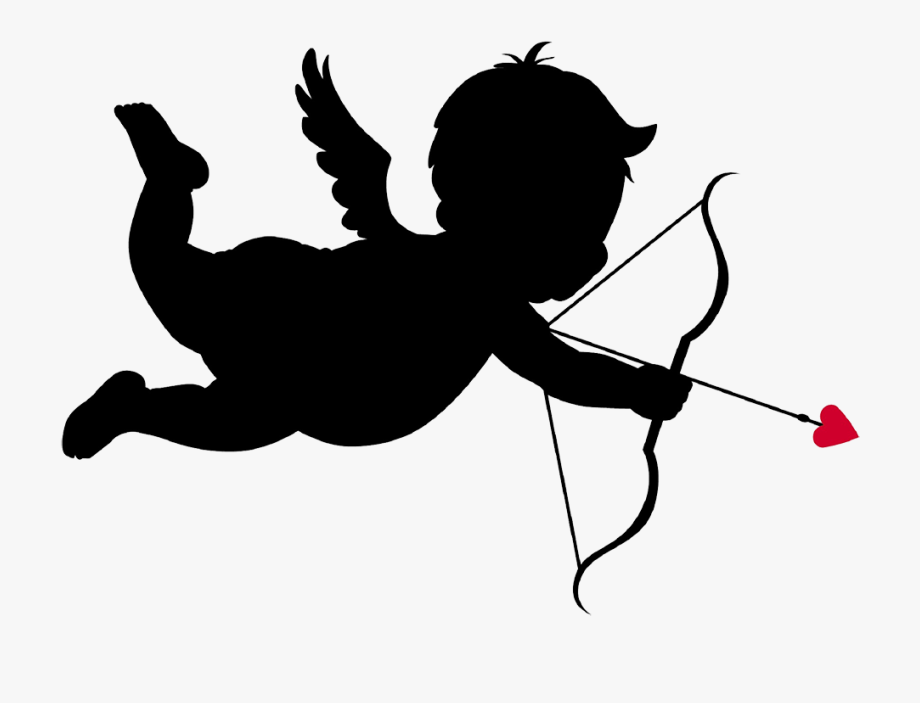 Cupid With Bow And Arrow.