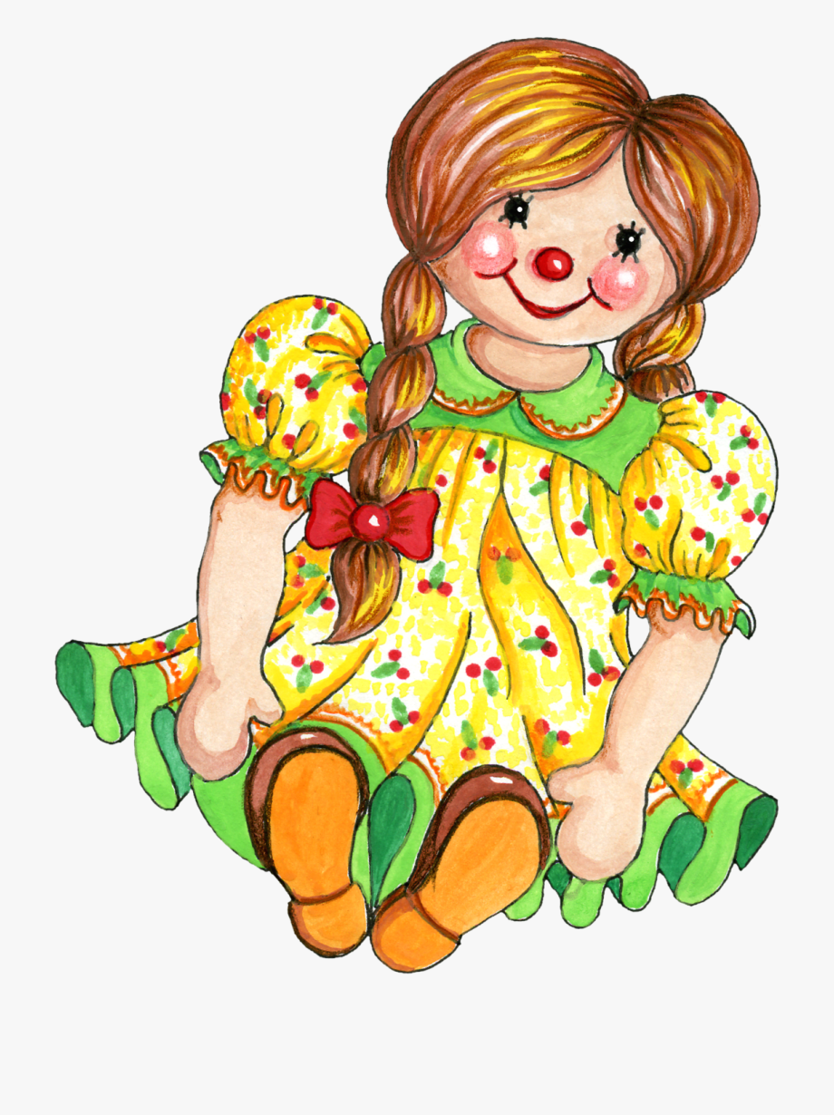 Dolls clipart rag doll, Dolls rag doll Transparent FREE for.