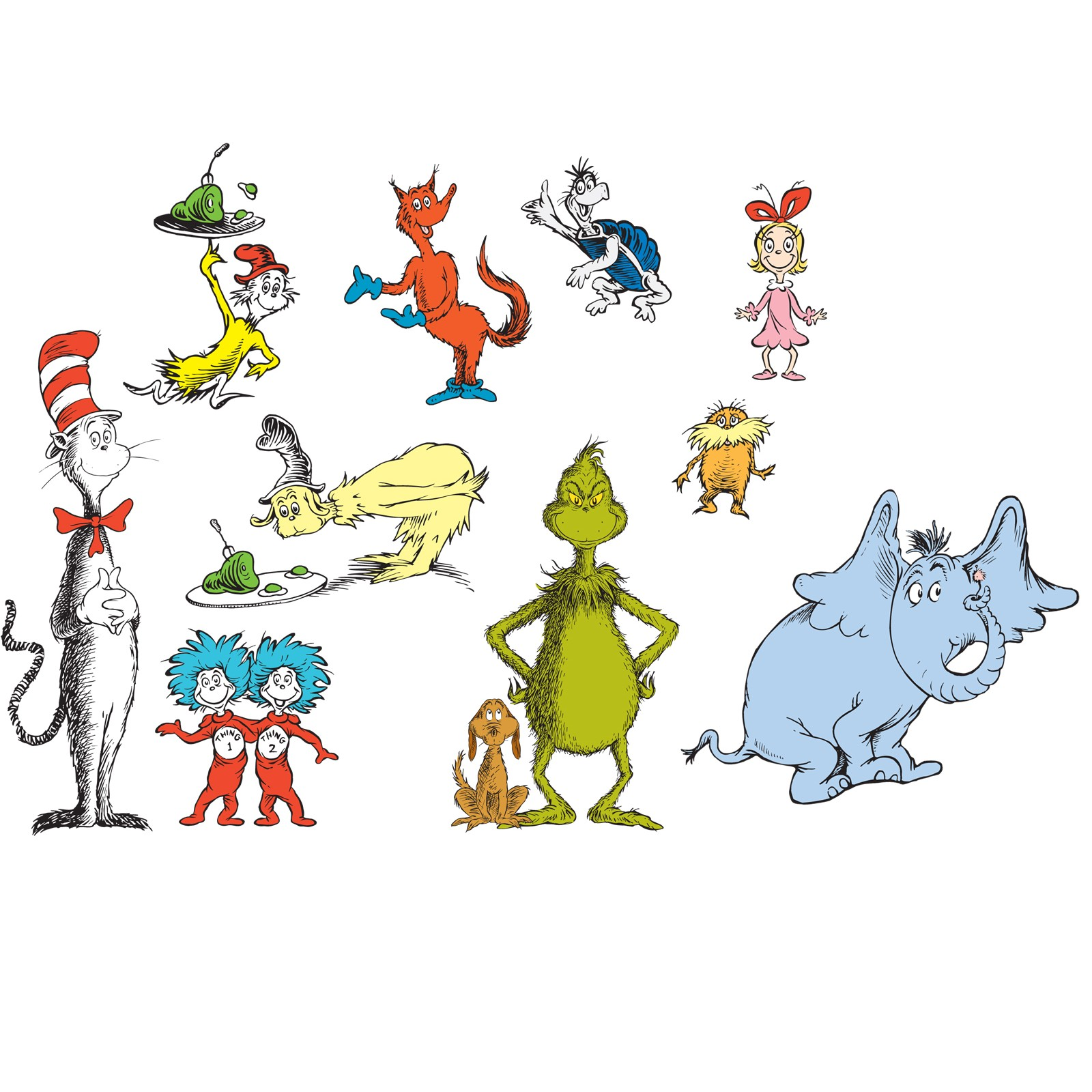 Free Dr. Seuss Characters, Download Free Clip Art, Free Clip.