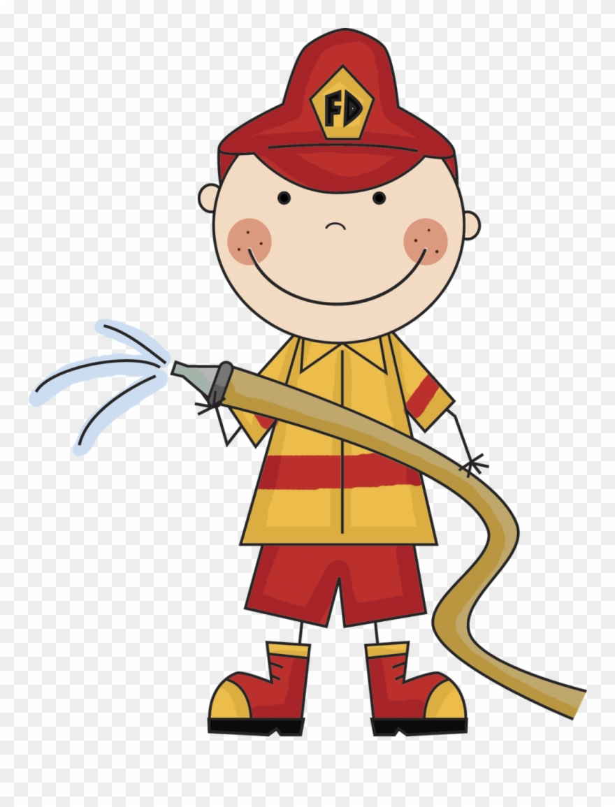 Free Clipart Of Firefighter.