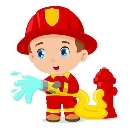 Free firefighter clipart 5 » Clipart Station.