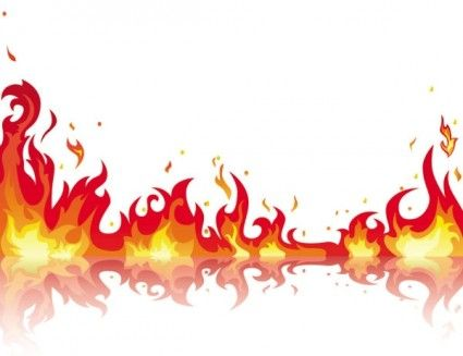 Flames flame clip art free free clipart images 5.