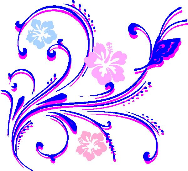 Flower Butterfly Clip Art at Clker.com.