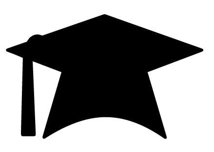 Free clipart graduation cap.