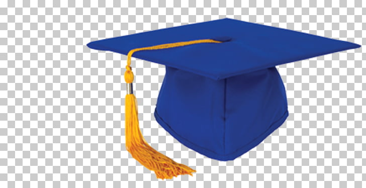 Square academic cap Graduation ceremony Hat Blue, graduation.