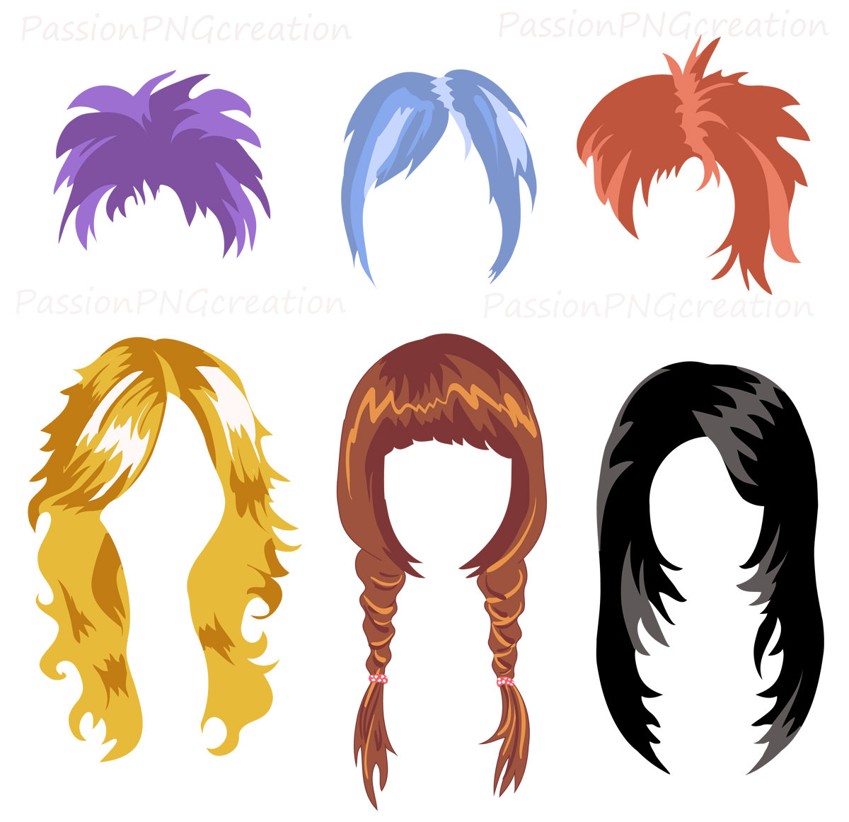 Hair clip art free clipart images.