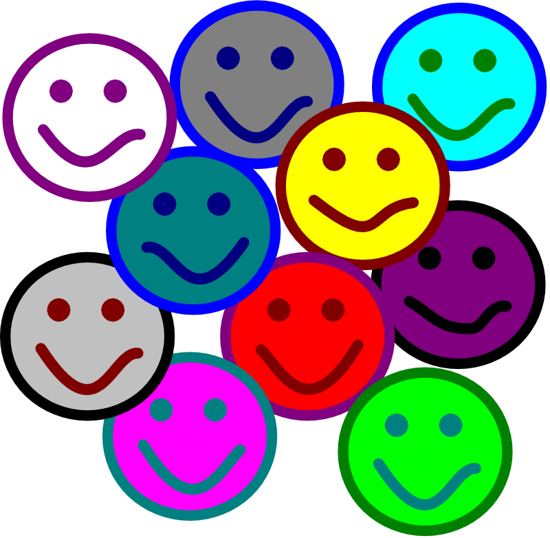 Group Of Happy People Clip Art.