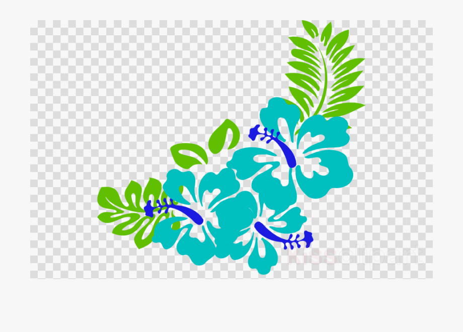 Hawaiian Flower Frame.