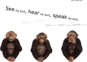 See No Evil Hear No Evil Speak No Evil Clip Art at Clker.com.