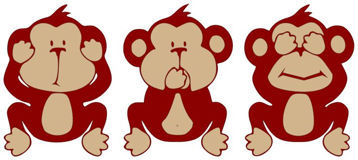 Free Clipart Of Hear No Evil.