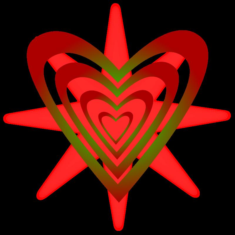 Free Clipart: Hearts/corazones.